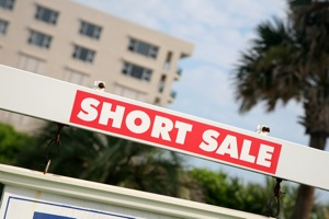 Short Sale Sign in Sacramento