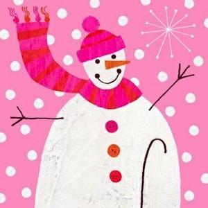 Crystal Snowman Bad Artwork