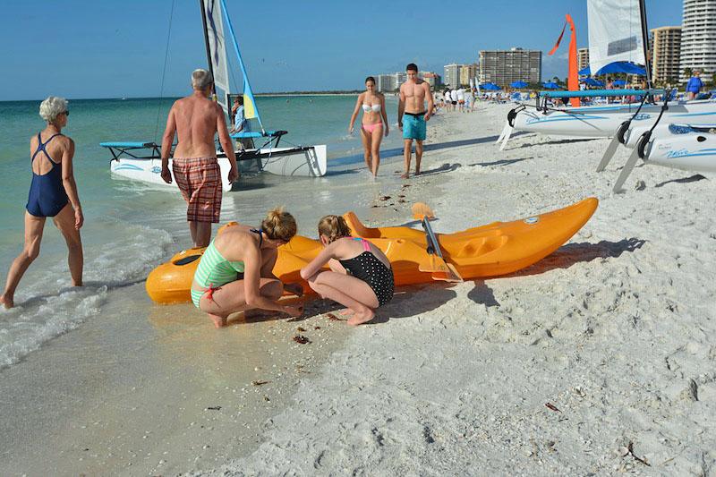 Marco island naked boating