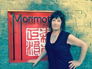 Elizabeth at Morimoto