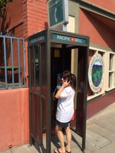 Elizabeth Phone Booth Dunsmuir