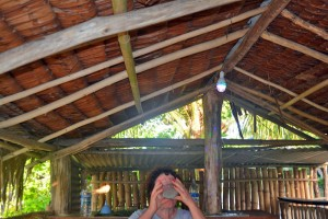 Downing the Kava in Tanoliu, Efate Island