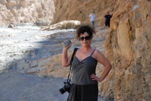 Elizabeth Weintraub in Death Valley