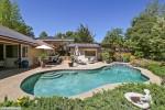 Pool and Pool House at 3328 Linwood Lane
