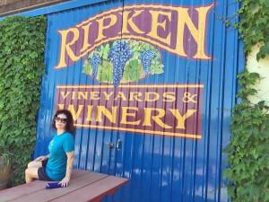 Ripken vineyard & winery in lodi